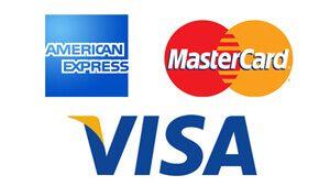 American Express Visa Mastercard Logos
